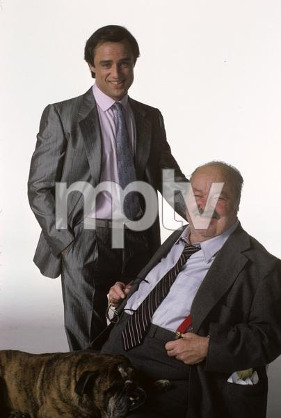 """Jake and the Fatman""Joe Penny, William Conrad1987 © 1987 Mario Casilli - Image 4443_0040"