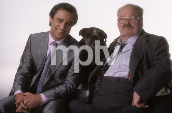 """Jake and the Fatman""Joe Penny, William Conrad1987 © 1987 Mario Casilli - Image 4443_0046"