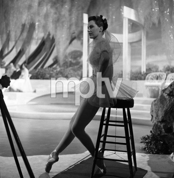 """""""Meet Me in Las Vegas""""Cyd Charisse1956 © 1978 Eric Skipsey - Image 4493_0004"""