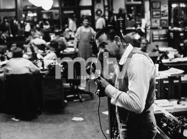 """""""Front Page, The""""Walter Matthau1974 UI © 1978 Bill Avery / MPTV - Image 4566_0017"""