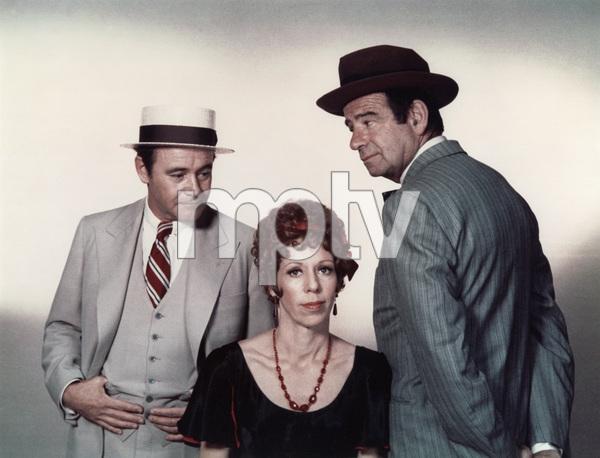 """""""The Front Page"""" Jack Lemmon, Carol Burnett, Walter Matthau 1974 UI © 1978 Bill Avery   - Image 4566_0022"""