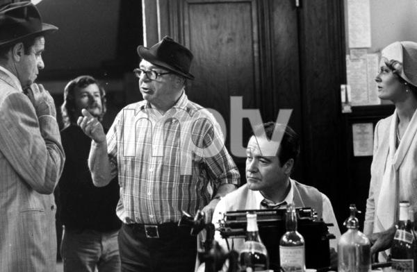 """Front Page, The""Walter Matthau, Dir. Billy Wilder, Jack Lemmon,Susan Sarandon1974 UI © 1978 Gunther MPTV - Image 4566_32"