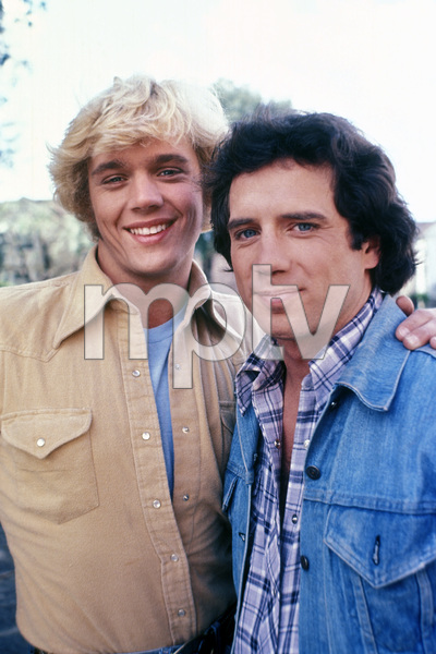 """The Dukes of Hazzard""John Schneider, Tom Wopat1983** H.L. - Image 4599_0060"