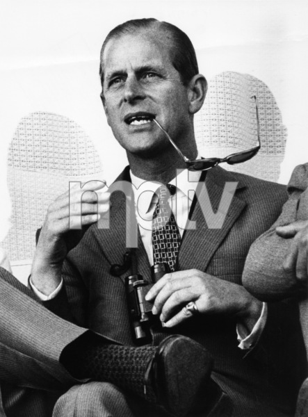 Prince Philip viewing an Olympic competition in Mexico City1968 - Image 4614_0001