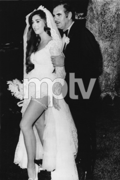 """Blonde film star Edy Williams was married, June 27th, 1970, to movie director Russ Meyer after meeting earlier in the year on the set of the movie """"Beyond the Valley of the Dolls"""" - Image 4658_0004"""