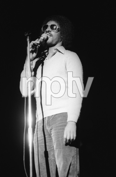 Stevie Wonder performing live in Los Angeles, CAcirca 1975© 1978 Bobby Holland - Image 4804_0043