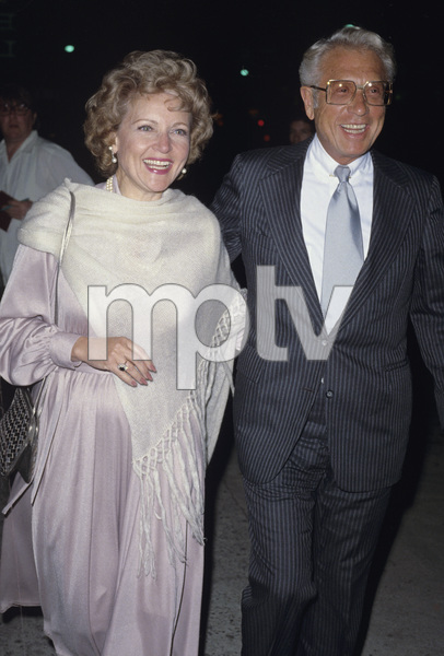 Betty White and Allen Luddencirca 1970s© 1978 Gary Lewis - Image 4808_0032