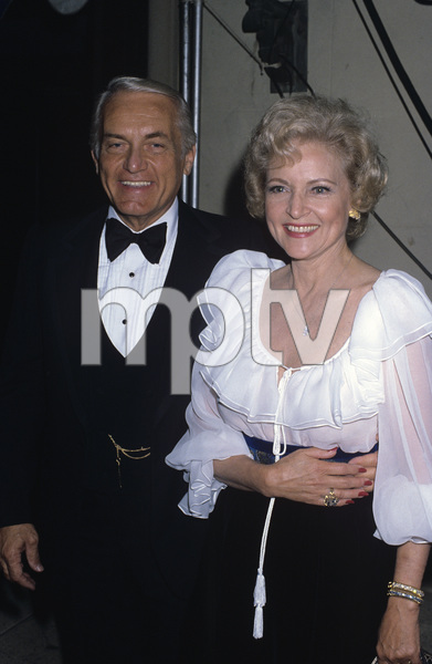 "Betty White and Ted Knight at ""The 33rd Annual Tony Awards""1979© 1979 Gary Lewis - Image 4808_0035"