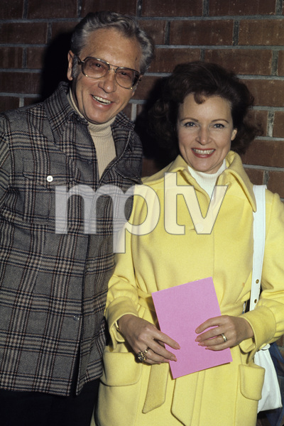 Betty White and Allen Luddencirca 1970s© 1978 Gary Lewis - Image 4808_0043