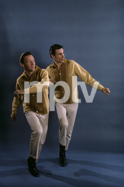 Righteous Brothers Bill Medley, Bobby Hatfield February 1965 © 1978 Gene Trindl - Image 4849_0022