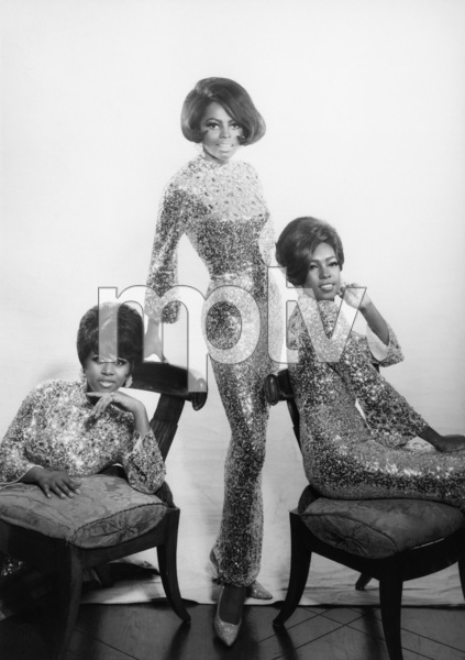 The Supremes (Diana Ross, Florence Ballard, Mary Wilson)1967© 1978 Wallace Seawell - Image 4865_0030