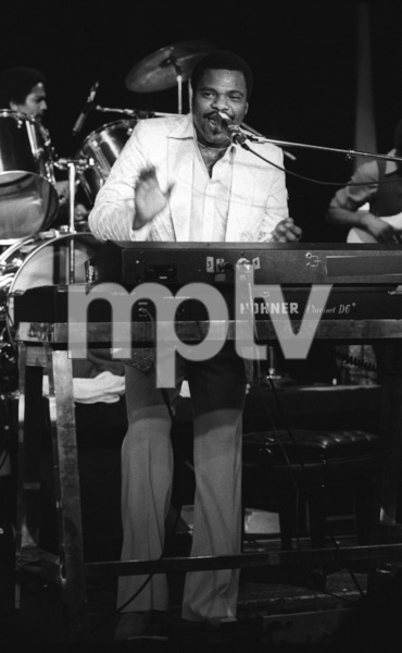 Billy Preston performing live at the Roxy in Hollywood1979© 1979 Bobby Holland - Image 4884_0006
