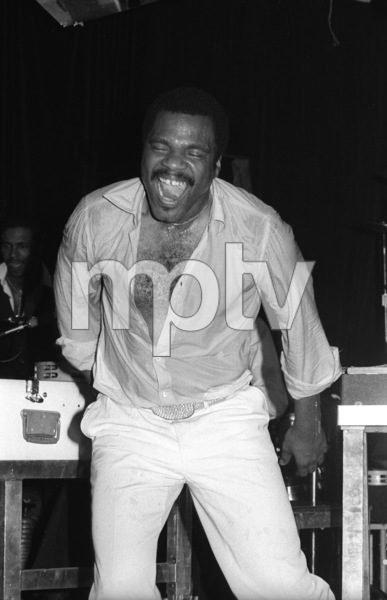 Billy Preston performing live in Los Angeles 1980© 1980 Bobby Holland - Image 4884_0024