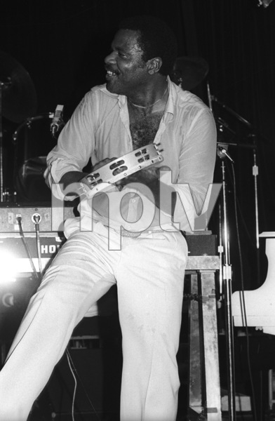 Billy Preston performing live in Los Angeles 1980© 1980 Bobby Holland - Image 4884_0025