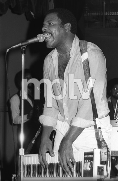Billy Preston performing live in Los Angeles 1980© 1980 Bobby Holland - Image 4884_0026