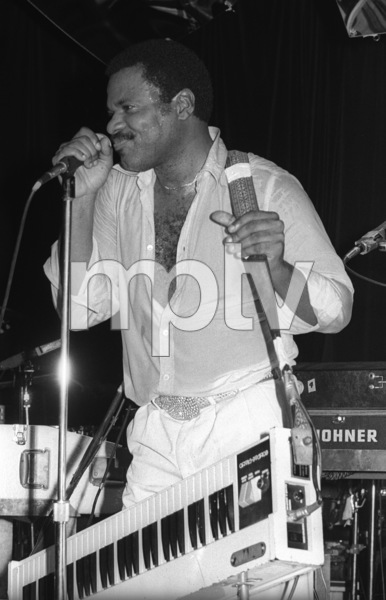 Billy Preston performing live in Los Angeles 1980© 1980 Bobby Holland - Image 4884_0027
