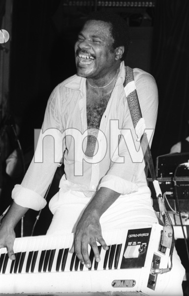 Billy Preston performing live in Los Angeles 1980© 1980 Bobby Holland - Image 4884_0029