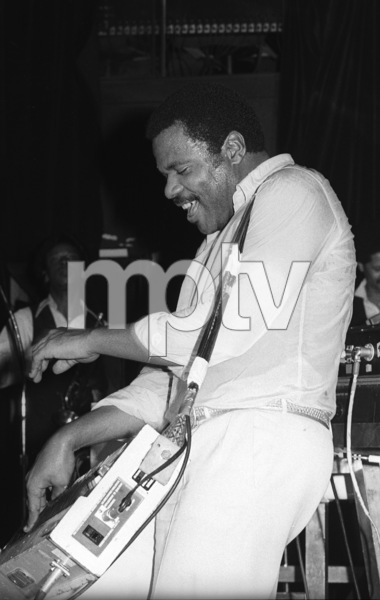 Billy Preston performing live in Los Angeles 1980© 1980 Bobby Holland - Image 4884_0030
