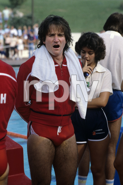 "Robin Williams on ""Battle of the Network Stars""1978© 1978 Gary Lewis - Image 5045_0047"