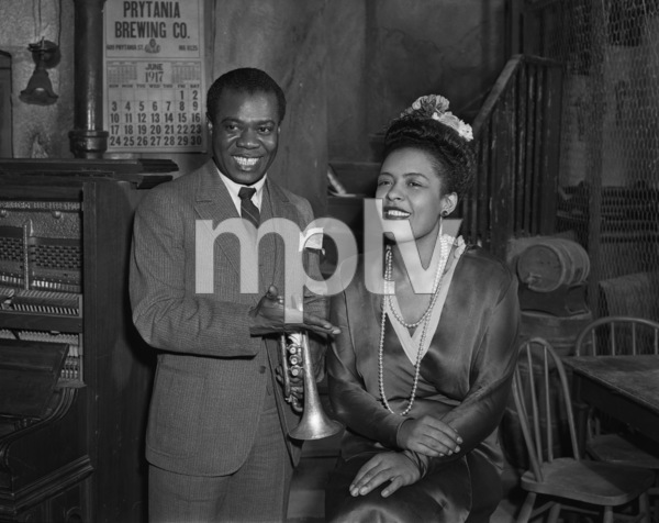 """""""New Orleans""""Louis Armstrong, Billie Holiday1947 United Artists** I.V. - Image 5062_0082"""