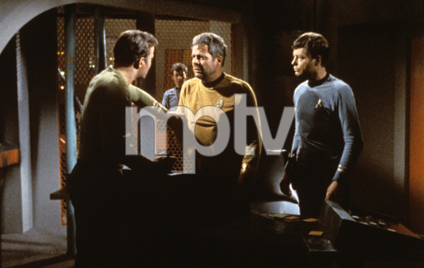 """Star Trek"" (Episode: The Doomsday Machine)DeForest Kelley, William Shatner, William Windom1967 - Image 5088_0172"