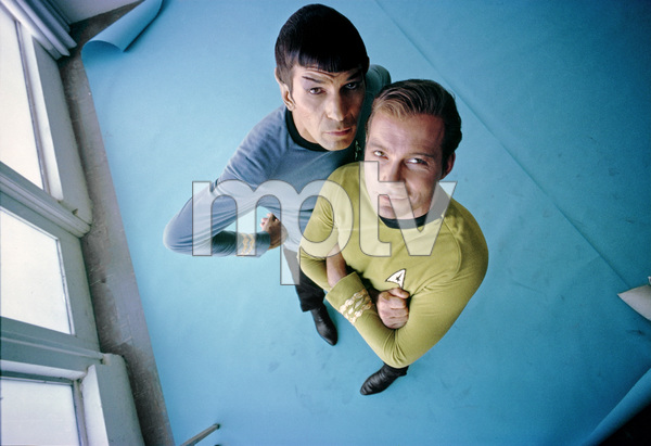 """Star Trek"" Leonard Nimoy, William Shatner 1966 © 1978 Ken Whitmore - Image 5088_0345"