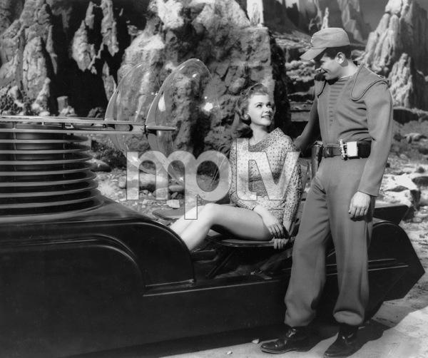 """""""Forbidden Planet""""Leslie Nielsen, Anne Francis, MGM, 1956, **I.V. - Image 5089_0032"""