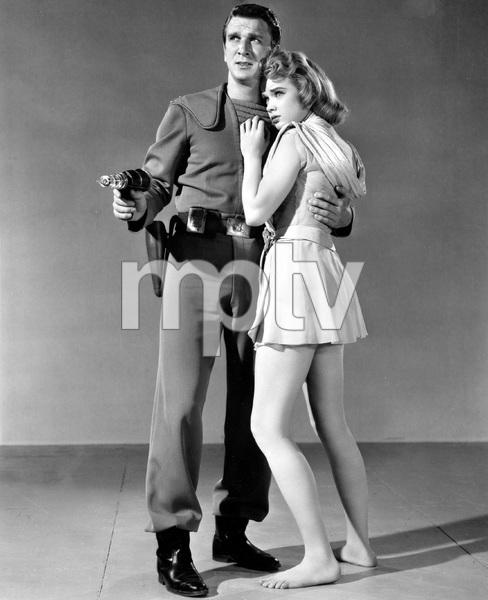 """""""Forbidden Planet"""" Leslie Nielsen & Anne Francis 1956 MGM **I.V. - Image 5089_0061"""