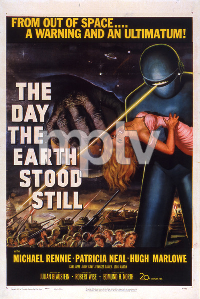 """The Day the Earth Stood Still""Poster1951 20th Century Fox**I.V. - Image 5090_0005"