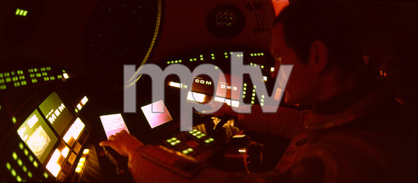 """""""2001: A Space Odyssey,"""" MGM 1968.Keir DulleaPhoto By John Jay / MPTV - Image 5091_0129"""