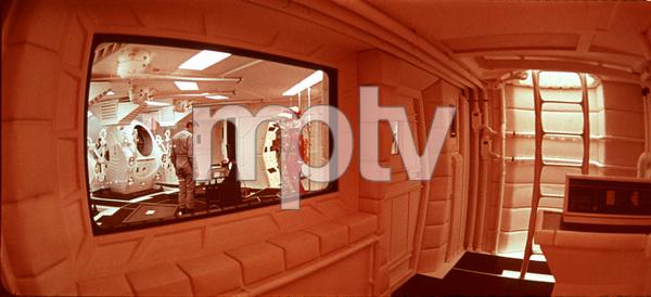 """2001: A Space Odyssey,"" MGM 1968.Gary LockwoodPhoto By John Jay / MPTV - Image 5091_0138"