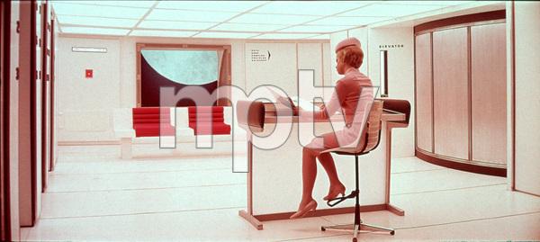 """2001: A Space Odyssey,"" MGM 1968.Photo By John Jay / MPTV - Image 5091_0159"