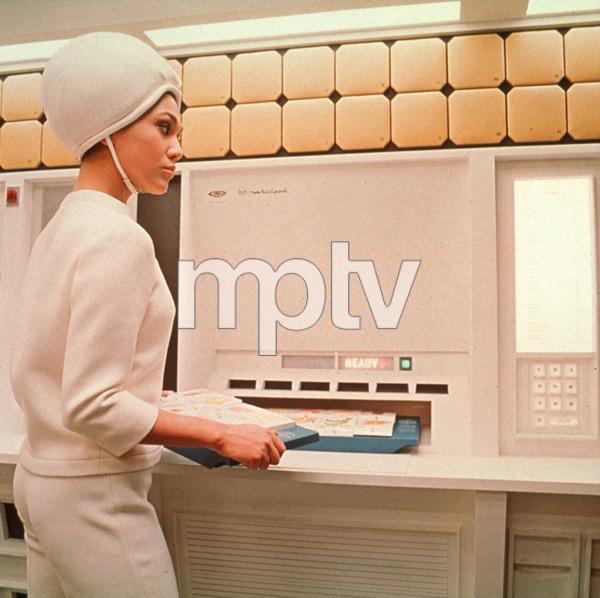 """2001: A Space Odyssey,"" MGM 1968.Phot By John Jay / MPTV - Image 5091_0163"