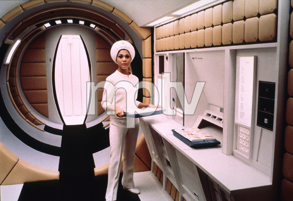 """2001: A Sapce Odyssey,""Space Stewardess1968/MGM © 1978 John Jay - Image 5091_0179"