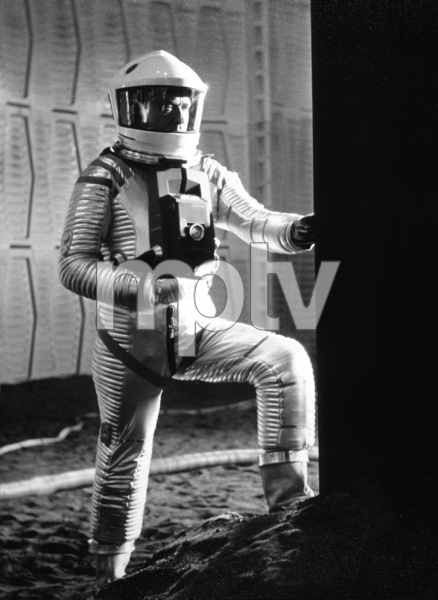 """""""2001: A Space Odyssey,""""William Sylvester.1968/MGM © 1978 John Jay - Image 5091_0184"""