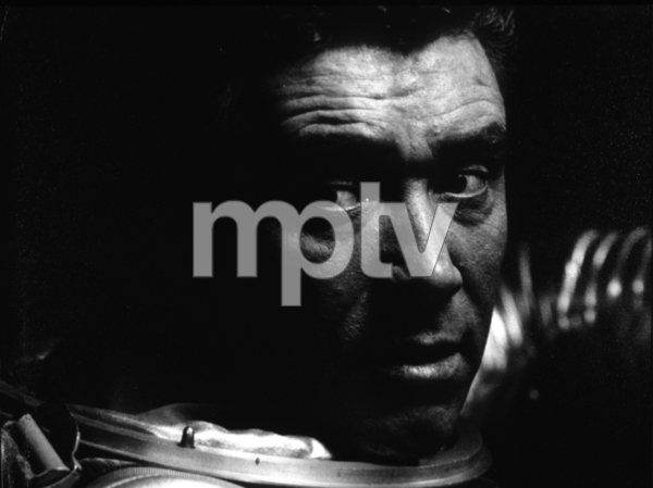 """""""2001: A Space Odyssey,""""William  Sylvester.1968/MGM © 1978 John Jay - Image 5091_0186"""