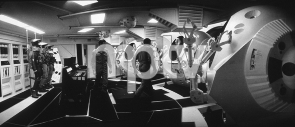 """""""2001: A Space Odyssey,""""Keir Dullea and Gary Lockwood.1968/MGM © 1978 John Jay - Image 5091_0191"""