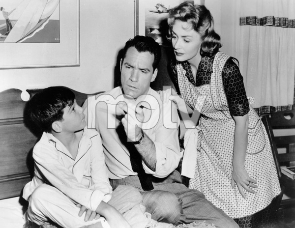 """""""The Donna Reed Show""""Donna Reed, Carl Betz, Paul Petersencirca 1962 - Image 5094_0175"""