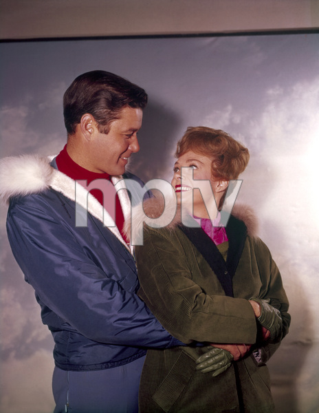 """Lost in Space"" Guy Williams, June Lockhart circa 1965 © 2009 Space Productions ** I.A. - Image 5095_0185"
