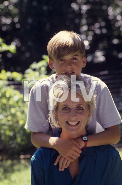 Kristin Harmon Nelson and her son, Sam1987© 1987 Gunther - Image 5161_0115