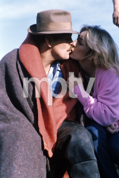 """Nick Nolte and wife Sharyn Haddad on location during the filming of """"Cannery Row""""1982 © 1982 Bruce McBroom - Image 5208_0044"""