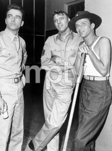 """""""From Here To Eternity""""Montgomery Clift, Burt Lancaster, Frank Sinatra1953 Columbia - Image 5336_0012"""