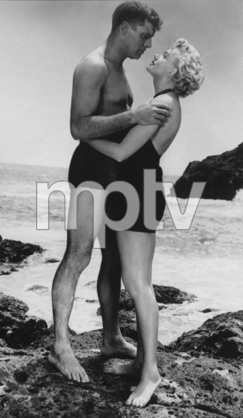 """From Here To Eternity""Burt Lancaster, Deborah Kerr1953 ColumbiaMPTV - Image 5336_0024"