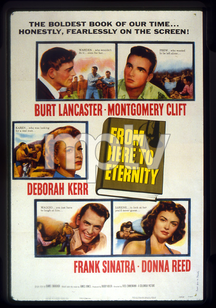 """From Here to Eternity""Poster1953 Columbia**I.V. - Image 5336_0039"