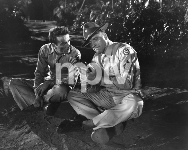 """""""From Here to Eternity""""Burt Lancaster, Montgomery Clift1953 Columbia**I.V. - Image 5336_0046"""