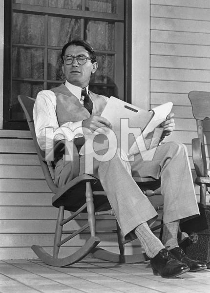 """To Kill A Mockingbird""Gregory Peck1962 20th / **I.V. - Image 5344_0009"