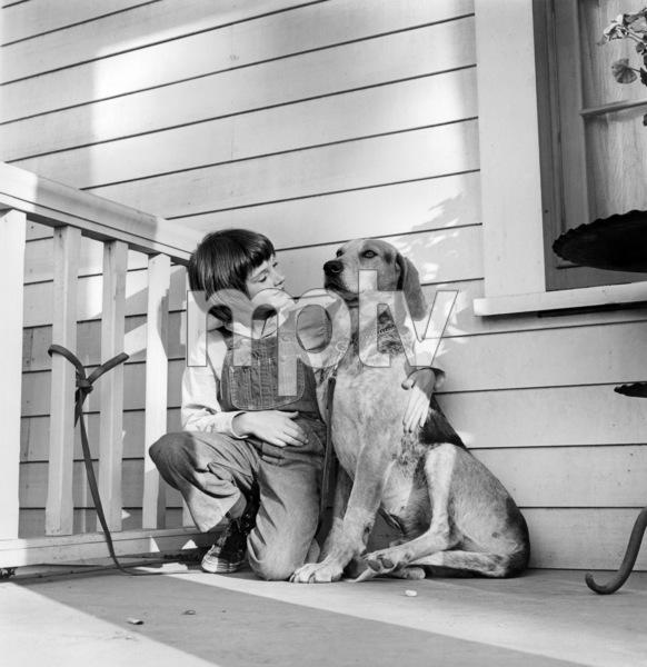 "Mary Badham on the set of ""To Kill a Mockingbird""1962 Universal** B.D.M. - Image 5344_0024"