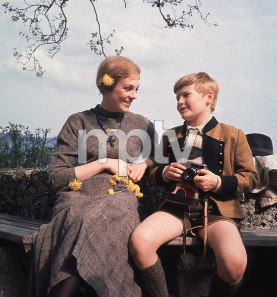 """""""The Sound of Music"""" Julie Andrews and Duane Chase1965 20th**I.V. - Image 5370_0125"""