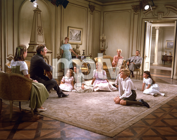 """The Sound of Music""Julie Andrews, Christopher Plummer, Eleanor Parker1964 Twentieth Century Fox**I.V. - Image 5370_0167"