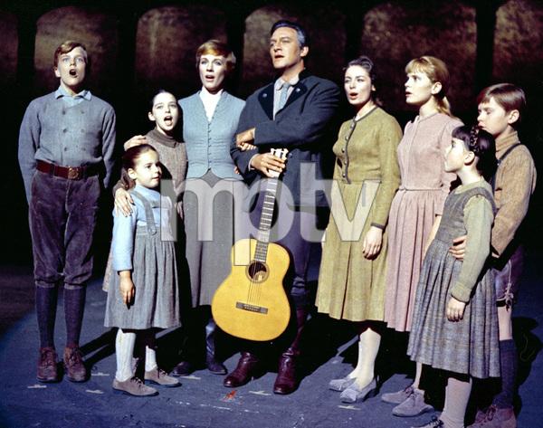 """The Sound of Music""Julie Andrews, Christopher Plummer1964 Twentieth Century Fox**I.V. - Image 5370_0171"